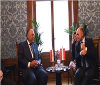 صور|وزير الخارجية يلتقي رئيس البرلمان النمساوي والمجلس الوطني