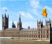 صور وفيديو| «ترامب الرضيع»..محتجون بريطانيون يسخرون من الرئيس الأمريكي بالفن
