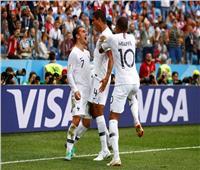 روسيا 2018| شاهد ..هدف فرنسا الأول في شباك أوروجواي