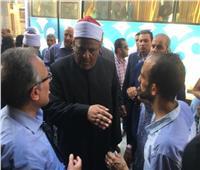 وكيل الأزهر يوضح حقيقة حدوث وفيات بحريق مستشفى الحسين الجامعي