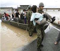 مقتل أكثر من 64 شخصا في اليابان بعد أمطار غير مسبوقة
