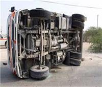 إصابة 8 أشخاص في حادث تصادم بطريق الإسكندرية الصحراوي