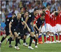 روسيا 2018  ظواهر ربع نهائي كأس العالم.. كرواتيا تحقق رقم قياسي جديد