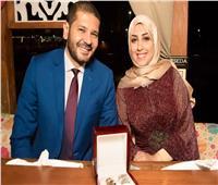 صور  مدير عام بنك مصر يحتفل بخطوبة ابنته بإحدى المراكب النيلية