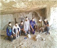 بجهود «الحرمية».. اكتشاف مدينة أثرية بالمنيا