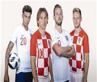 روسيا 2018  التاريخ ينصف إنجلترا على كرواتيا قبل مواجهة الليلة