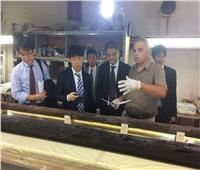 مدير عام «الجايكا» اليابانية يزور مشروع مركب خوفو الثانية