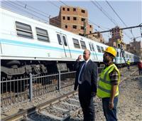 عاجل| بيان هام من «النقل» حول قطار «مترو المرج » المنقلب