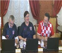 روسيا 2018| وزراء كرواتيا يحتفلون بتأهل منتخبهم للنهائي في اجتماع رسمي