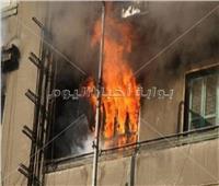 إصابة 4 أشخاص في حريق نشب بشقة سكنية بمصر القديمة