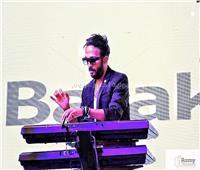 صور  أحمد عصام وعلي الحجار في حفل افتتاح المقر الرئيسي لبنك البركة