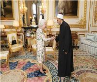شيخ الأزهر يلتقي الملكة إليزابيث بقلعة «وندسور»