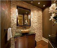 صور| البني ودرجاته رمزًا لفخامة حمام منزلك