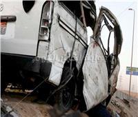 مصرع 3 وإصابة 19 في حادث انقلاب ميكروباص بالسويس