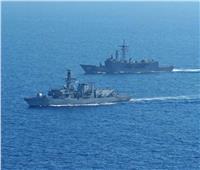 مصر وبريطانيا تنفذان تدريب بحري مشترك بالبحر الأبيض المتوسط