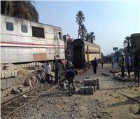 قطار البدرشين  أول تصريح من «السكة الحديد» حول حادث الانقلاب