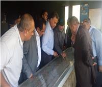 صور  مساعد وزير الداخلية للنقل يصل مكان حادث قطار البدرشين
