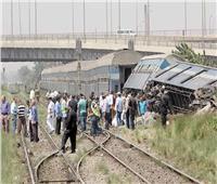 قطار البدرشين| عودة حركة القطارات لطبيعتها بعد رفع آثار الحادث