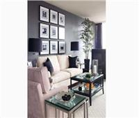 صور  سحر اللون الرمادى في غرفة معيشتك