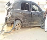 إصابة 17شخصا في حادث تصادم ميكروباص بملاكي بالسخنة