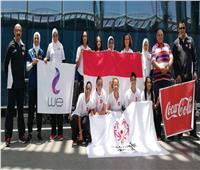 بعثة كرة القدم النسائية للأولمبياد الخاص تطير إلى شيكاغو