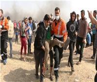 إصابة 6 فلسطينيين برصاص الاحتلال الإسرائيلي في مخيم الجلزون