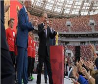 روسيا 2018| بوتين يعد قائمة الرؤساء لحضور مباراة نهائي كأس العالم