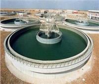 صيانة خزان محطة المياه بمدينة أبوقرقاص بالمنيا