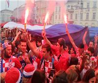 روسيا 2018| جماهير كرواتيا «رقعة شطرنج من نار» استعدادا للنهائي
