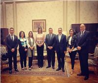 وزيرة الهجرة تلتقي أعضاء جمعية الصداقة البرلمانية المصرية البريطانية