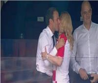 روسيا 2018| رئيسة كرواتيا تهنئ ماكرون بفوز فرنسا بكأس العالم