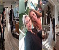 اعرف حقيقة صور زفاف معز مسعود وشيري عادل