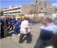 إزالة 120 حالة وتحرير4 محاضر إشغال طريق ببني مزار بالمنيا