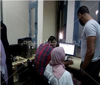 تنسيق الجامعات ٢٠١٨|660 طالب سجلوا رغباتهم بمعامل عين شمس في أول أيام التنسيق