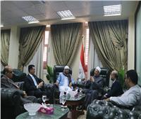 مفتي الجمهورية يستقبل وزير الأوقاف اليمني لبحث التعاون الديني