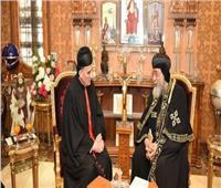 البابا تواضروس يعزي البطريرك الماروني