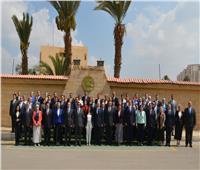 وزيرة السياحة تلتقي أعضاء التمثيل العسكري المرشحين للعمل بالسفارات