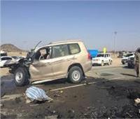 إصابة 25 فتاة بعد انقلاب سيارة ربع نقل بالمنيا