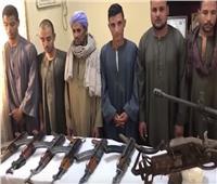 فيديو| القوات الخاصة تداهم البؤر الإجرامية في قنا