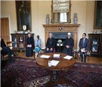 صور| شيخ الأزهر يلتقي أعضاء المنتدى الإسلامي المسيحي البريطاني