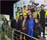 إسماعيل حسام يحسم لقب سباقات «كارتينج الهواة»