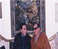 صورة| مجد القاسم يستعرض ذكرياته مع سيد مكاوي من «١٨ سنة»