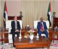 الرئاسة:لجنة مشتركة بين مصر والسودان لتفعيل إنجازات المباحثات