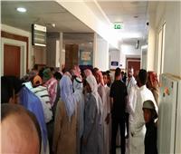 «قافلة الأزهر» بجنوب سيناء توقع الكشف الطبي على 1821حالة