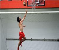 صور..بعد عودة الملك| «محمد صلاح» كرة السلة كلمة السر في تدريبات ليفربول