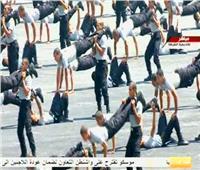 شاهد | استعراض المهارات العسكرية والبدنية لطلاب الشرطة