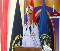 فيديو| رئيس أكاديمية الشرطة للخريجين: مدوا جسور الثقة مع المواطنين