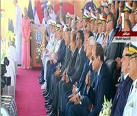 الرئيس السيسي يطالب  بـ«حرس سلاح» لشهداء الوطن
