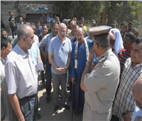 محافظ المنيا يتفقد طريق الشرفا ويتابع اعمال اللجنة الفنية لتفادي تكرار الحوادث