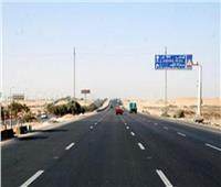 إعادة فتح طريق السويس الصحراوى بعد انتهاء أعمال التطوير